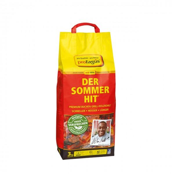 DER SOMMER HIT – Premium Buchen Grill-Holzkohle 3 kg