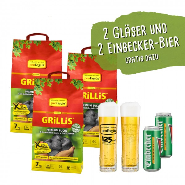 "Das BBQ and Beer ""GRiLLiS"" Paket"